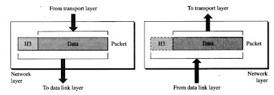 Network layer in a Network Model