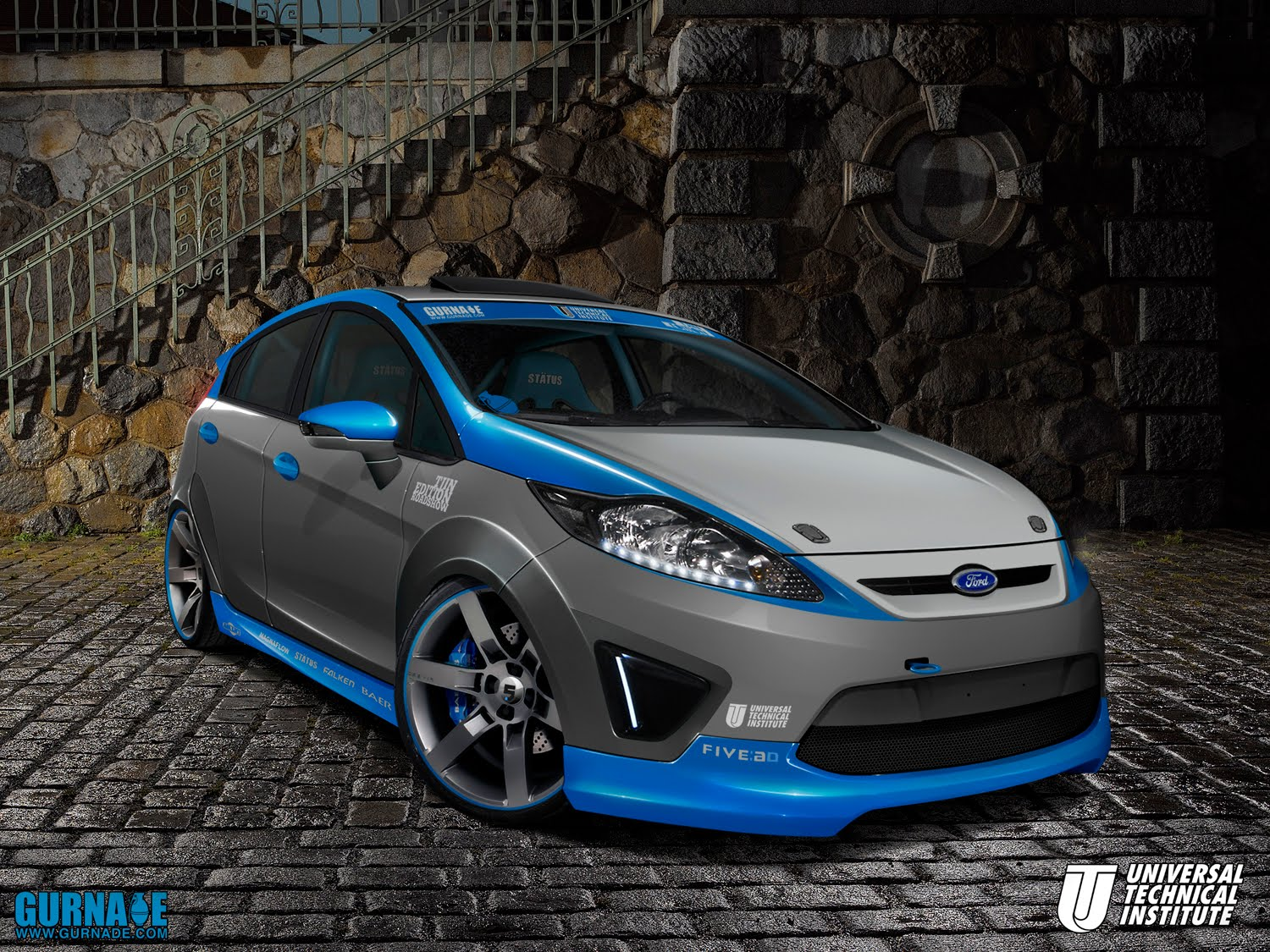2010 Sema Show Preview Ford Fiesta