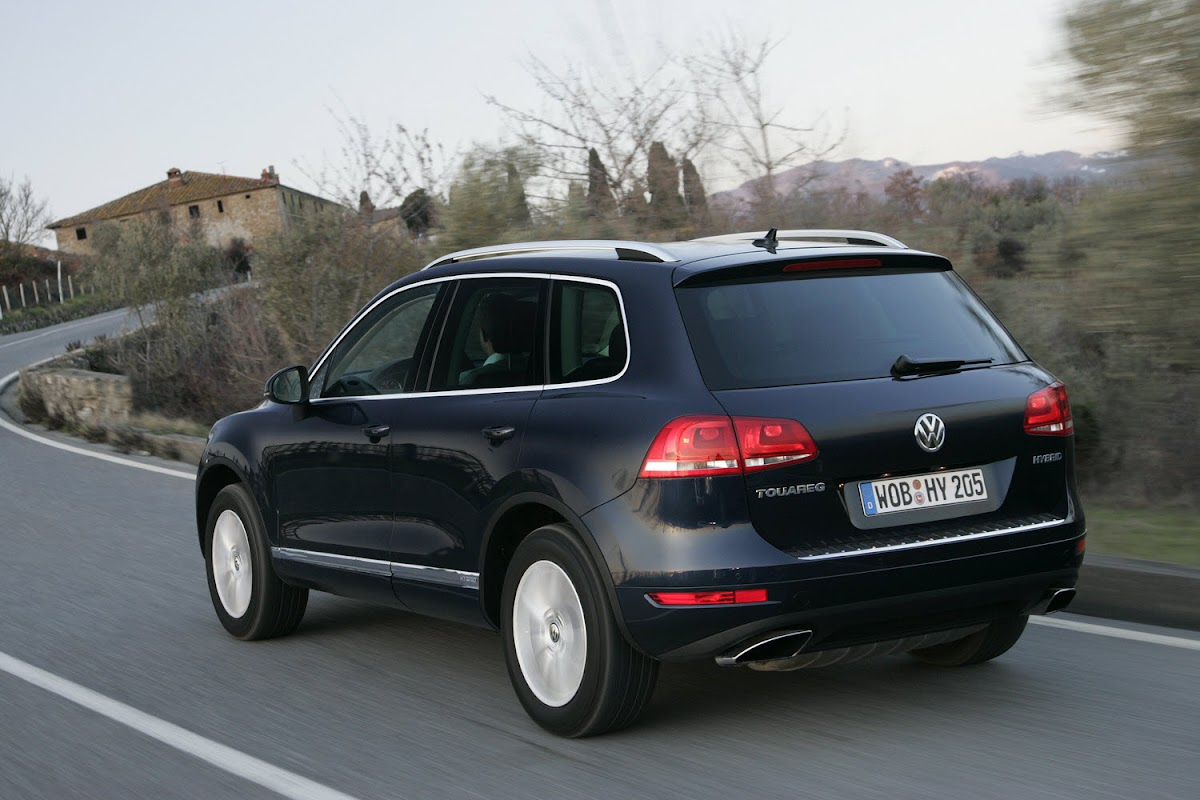 2011 Volkswagen Touareg - Released in USA