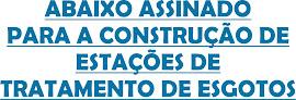 ASSINE NOSSO ABAIXO ASSINADO