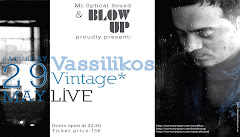 VASSILIKOS LIVE AT BAR BLOW UP