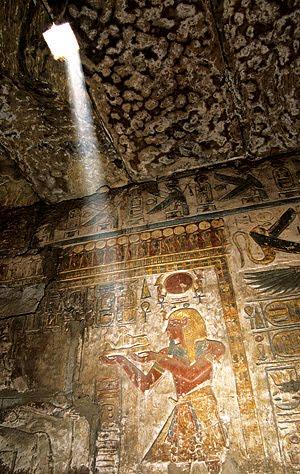Ramesse III.  -  Chonsu  -  Karnak - 1998