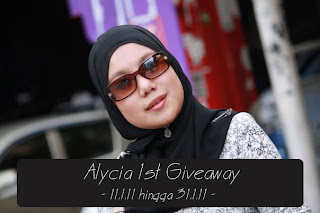:: Alycia 1st Giveaway ... ::