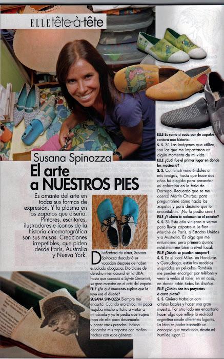 Revista ELLE, Mayo 2009