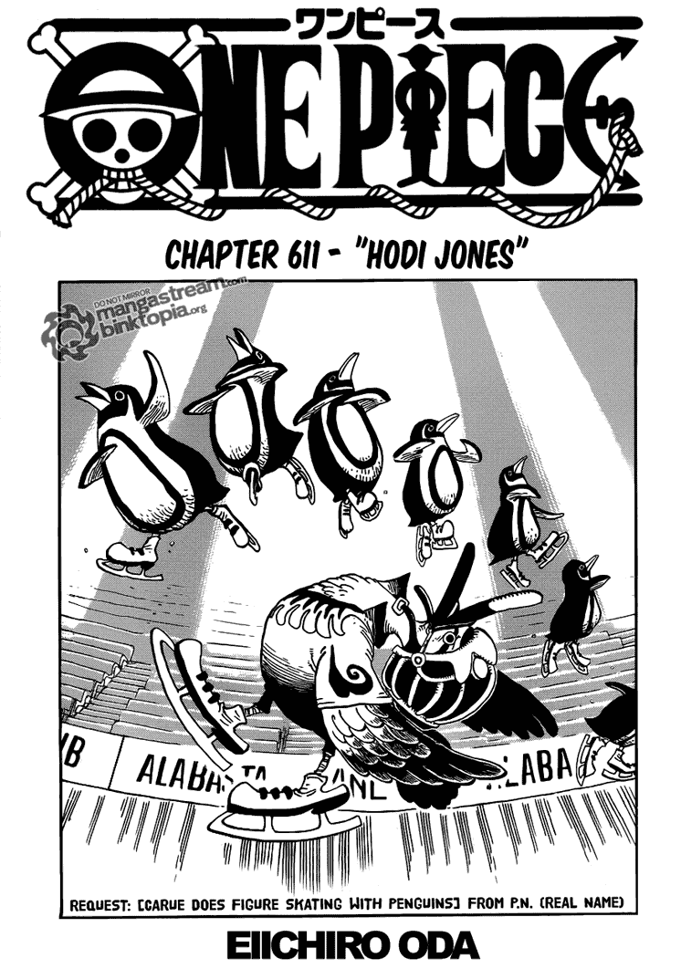 Hodi Jones| Read One Piece 611 Online | 00 - Press F5 to reload this image
