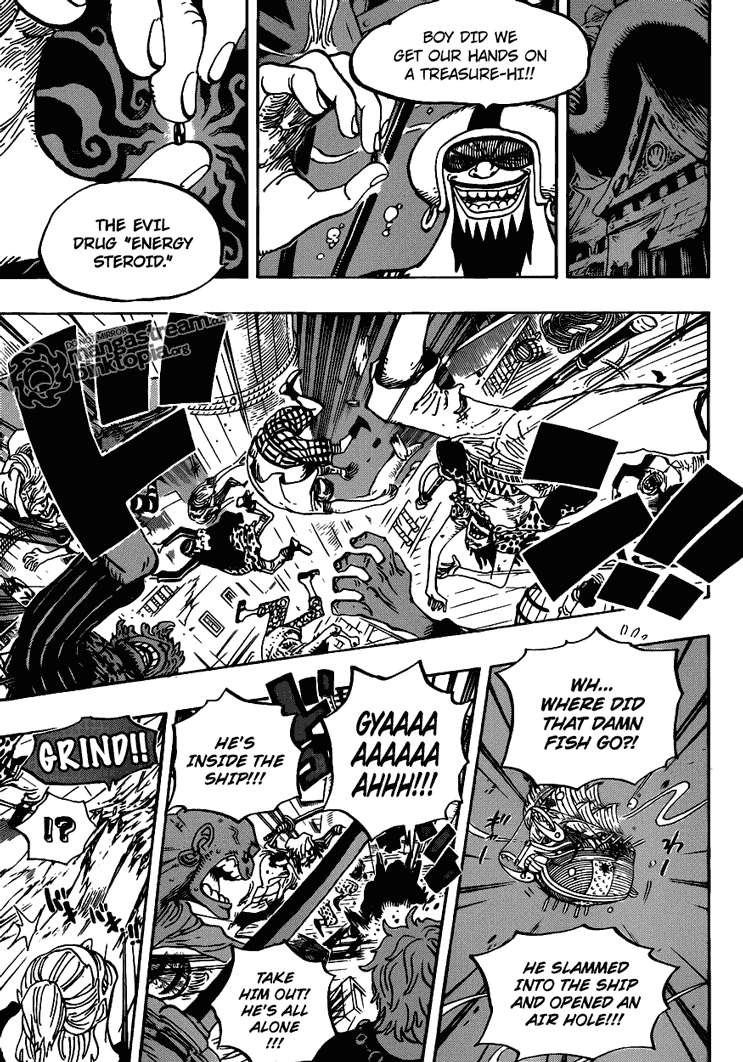 Read One Piece 611 Online | 11 - Press F5 to reload this image