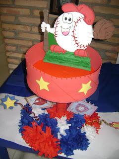 Béisbol decoración de la fiesta de cumpleaños - YouTube