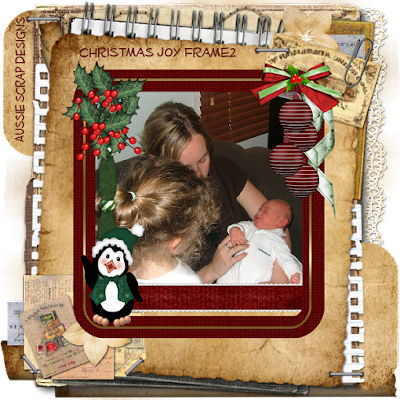 Christmas Joy Frame Freebie 2