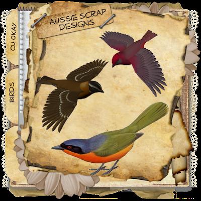 Birds (Aussie Scrap Designs) Birds_Freebie