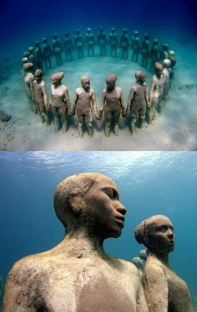 Underwater Sculpture Gallery