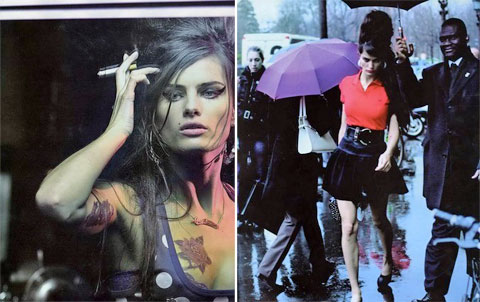 Isabeli Fontana X Amy Winehouse