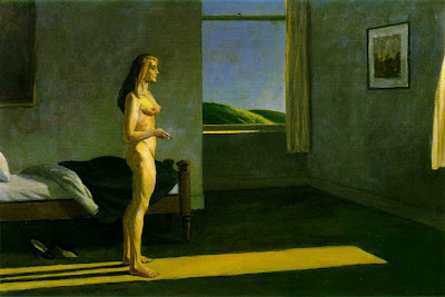 Edward Hopper, A woman in the sun - 1961