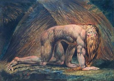 Nabucodonosor en el libro de Daniel, William Blake