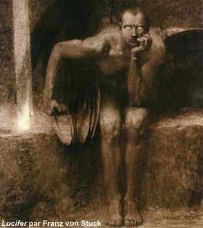 Lucifer, Franz Von Stuck