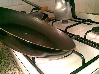 Patates kızartmalı yağda yumurta tarifi