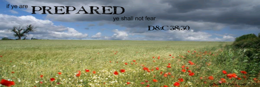 If ye are prepared