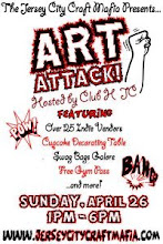 JC Craft Mafia : Art Attack at Club H