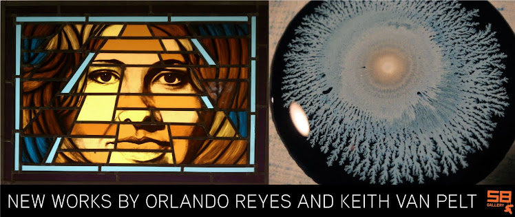 New Works by Orlando Reyes and Keith Van Pelt