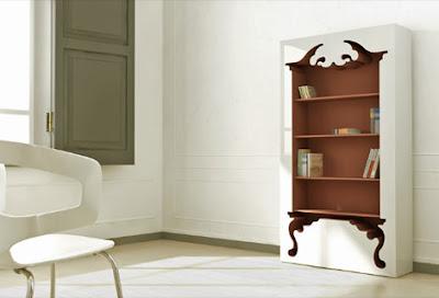 Interiores: Estante vintage