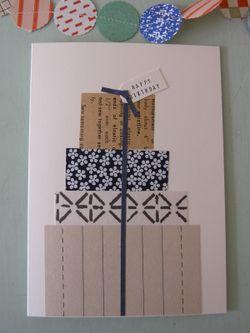 Ideia: Cartões com papel reciclado
