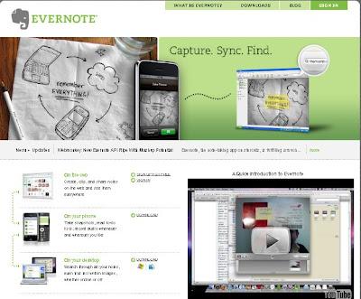 Websites: Evernote