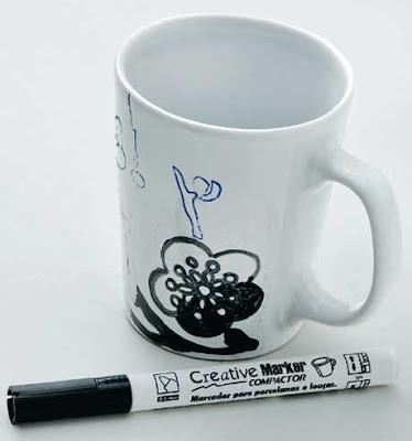 Faça você mesmo: Pintura na caneca