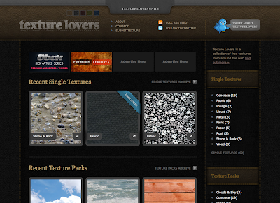 Websites: Texture Lovers