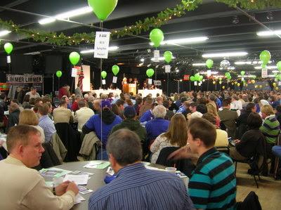 Convention floor (photo: North Star Liberty)