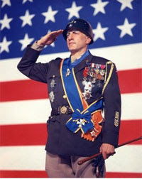 George C. Scott as Gen. George S. Patton. Copyright 1970 20th Century Fox.
