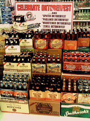 Oktoberfest (Märzen style) selection at US Liquor (photo: North Star Liberty