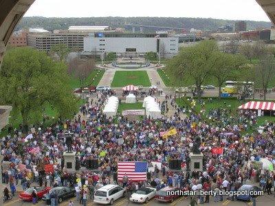 Tax Cut Rally 2009 (photo: North Star Liberty)
