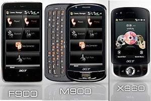 Acer F900, Acer M900, Acer X960, Acer DX900