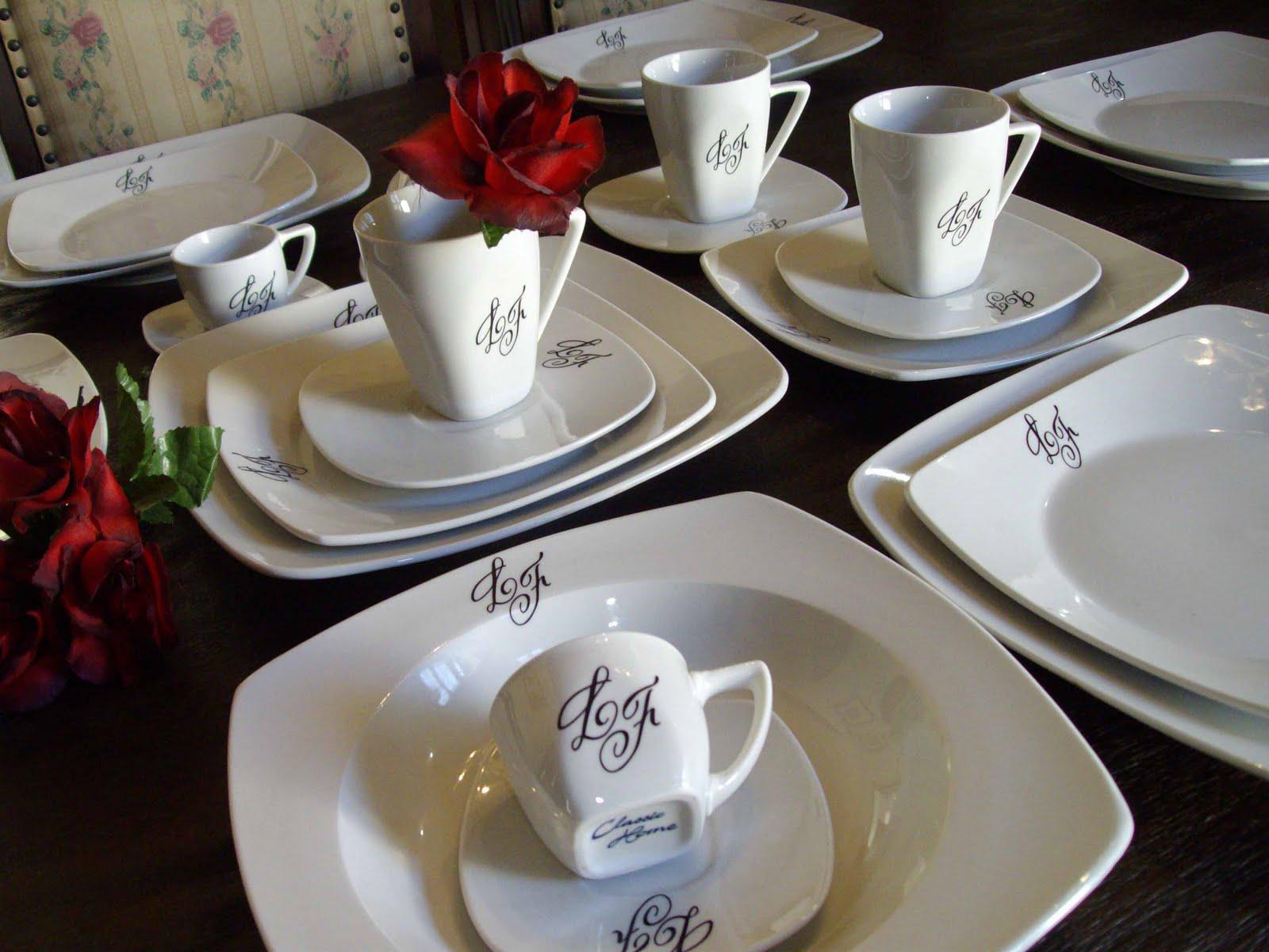 Aparelho de Jantar de Porcelana #682F27 1600x1200