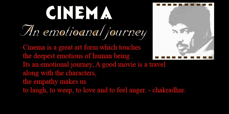 An emotional journey