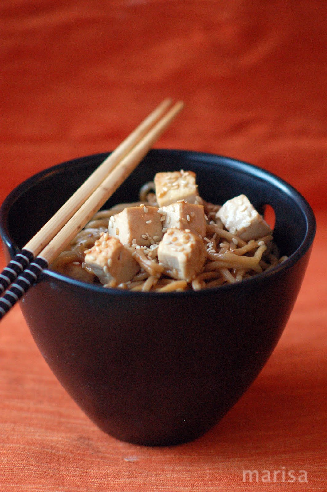 Receta #4 Tofu and Soba Noodle with Lemon Ginger Dressing | En ...