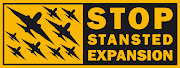 Stop Stansted Expansion is about to organise the biggest party in its . (stop stansted expansion logo)