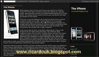 blogger xml templates temas