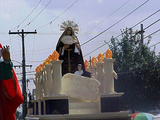 fotos, fotografias, galeria, fotografica, santisima, virgen, maria, divina, providencia, guarda, viejo, ciudad, guatemala, cuaresma, semana, santa, dosmilseis, 2006