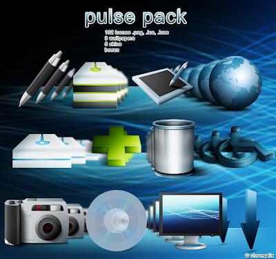 Pulse Pack iconos rocketdock objectdock pepua personalizacion