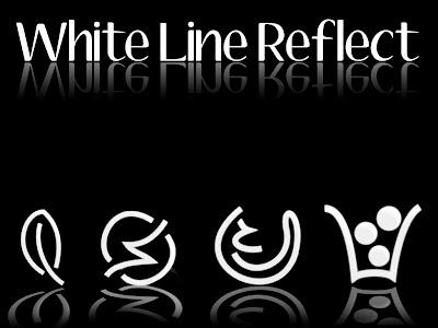 White Line Reflect iconos rocketdock objectdock pepua personalizacion