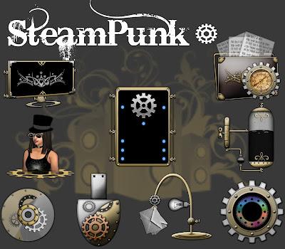 pepua personalizacion iconpackager iconos steampunk