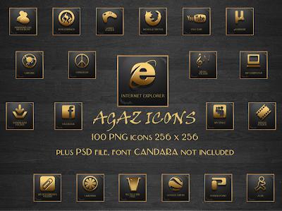 pepua agaz iconos dock descarga personalizacion y seguridad
