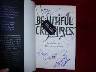 Signed Beautiful Creatures