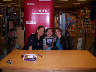 Me with Kami Garcia and Margret Stohl