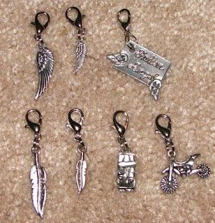 Hush, Hush inspired feather charms