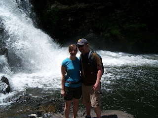 Hiking to Abrams Falls
