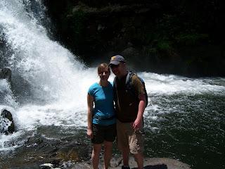 Hiking to Abrams Falls