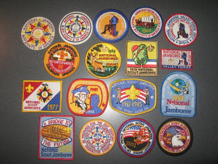 National BSA Jamboree Patches