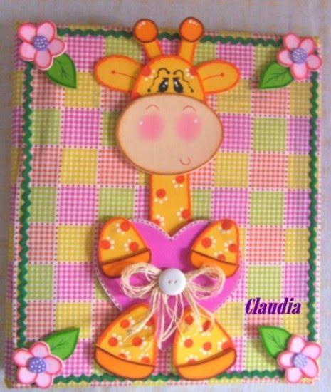 Imagen de carpetas decoradas con foami para bebés - Imagui