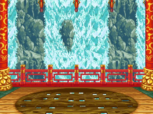 Waterfall Stage Mugen Infantry